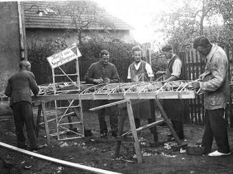 Bau des Zöglings in der Werkstatt Rohrbach