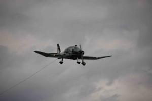 Der Aero-Club Bexbach nutzt seine DR400 u.a. als Schleppflugzeug