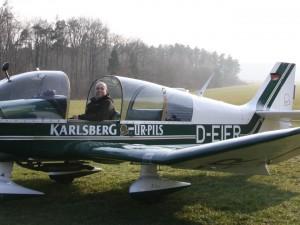 Hermann Frankfurter in der DR400