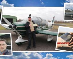 Erste erfolgreiche Motorflug-Prüfung in 2020!