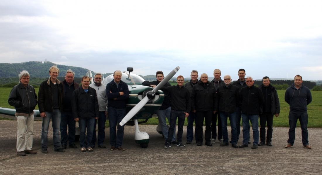 Fünf auf einen Streich – Neue Fluglehrer für den AeCB