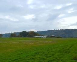 Ziellandewettbewerb des Aero-Clubs