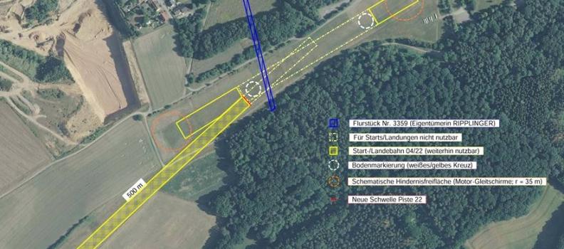 ACHTUNG: Flugplatzinformationen EDRX aktualisiert